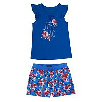 Girls 4-6x French Toast Tee & Shorts Set