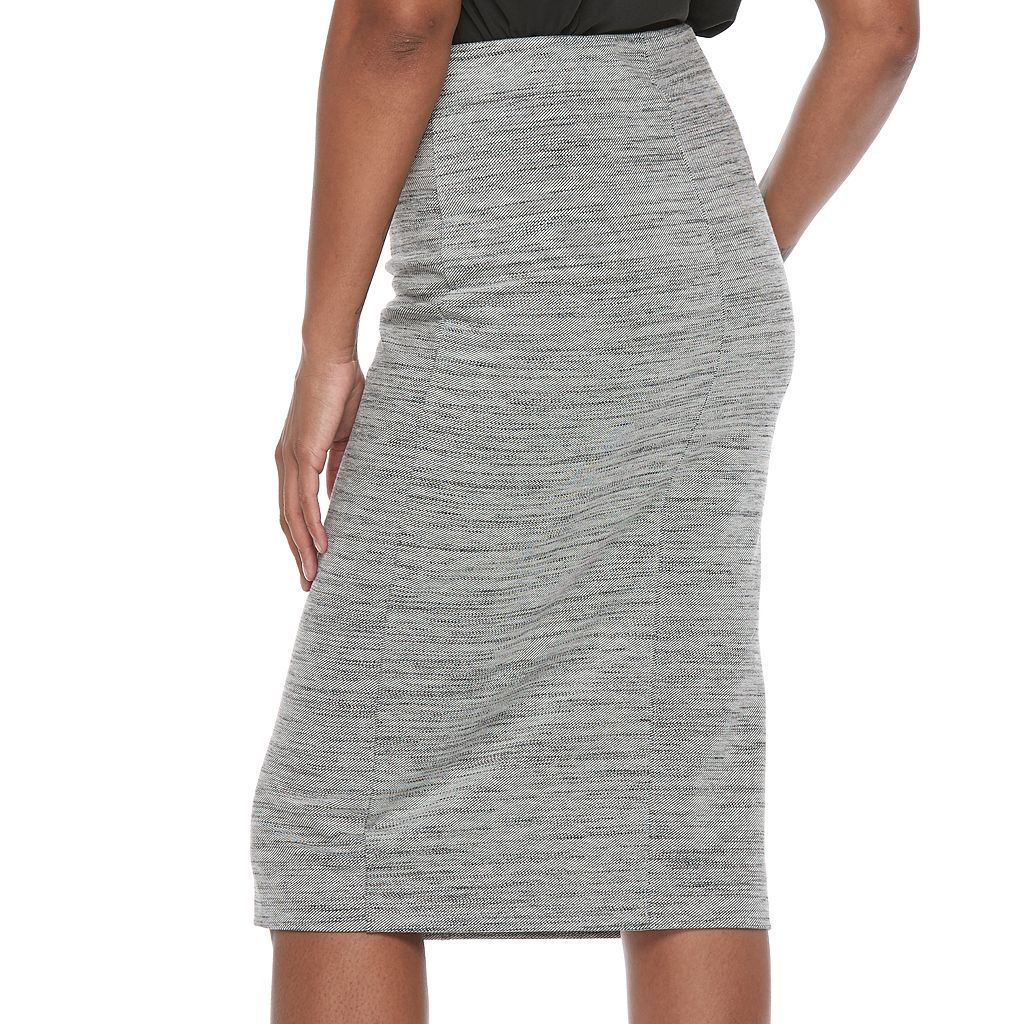 Women's Apt. 9® Front Slit Pull-On Pencil Skirt