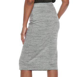 Women's Apt. 9® Front Slit Pull-On Pencil Skirt