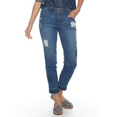 Women's ReCreation Patchwork Ankle Jeans