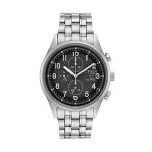 citizen men s eco drive stainless steel dress watch ao9020 84e