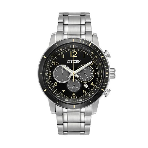 Citizen Eco-Drive Men's Brycen Stainless Steel Chronograph Watch - CA4358-58E