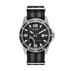 Citizen Eco-Drive Men's PRT Striped Watch - AW7030-06E