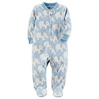 Baby Boy Carter's Elephant Microfleece Sleep & Play