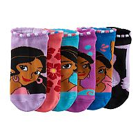 Disney's Elena of Avalor Girls 4-16 6-pk. No-Show Socks