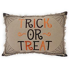 celebrate halloween together trick or treat throw pillow - Halloween Pillows