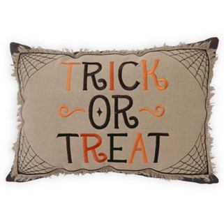 Celebrate Halloween Together Trick or Treat Throw Pillow