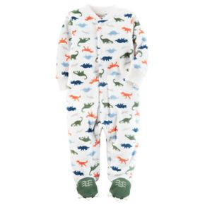 Baby Boy Carter's Dinosaur Microfleece Sleep & Play