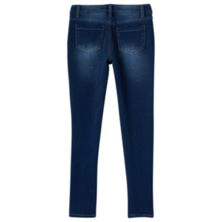 Girls 7-16 SO® Perfectly Soft Faded Denim Jeggings