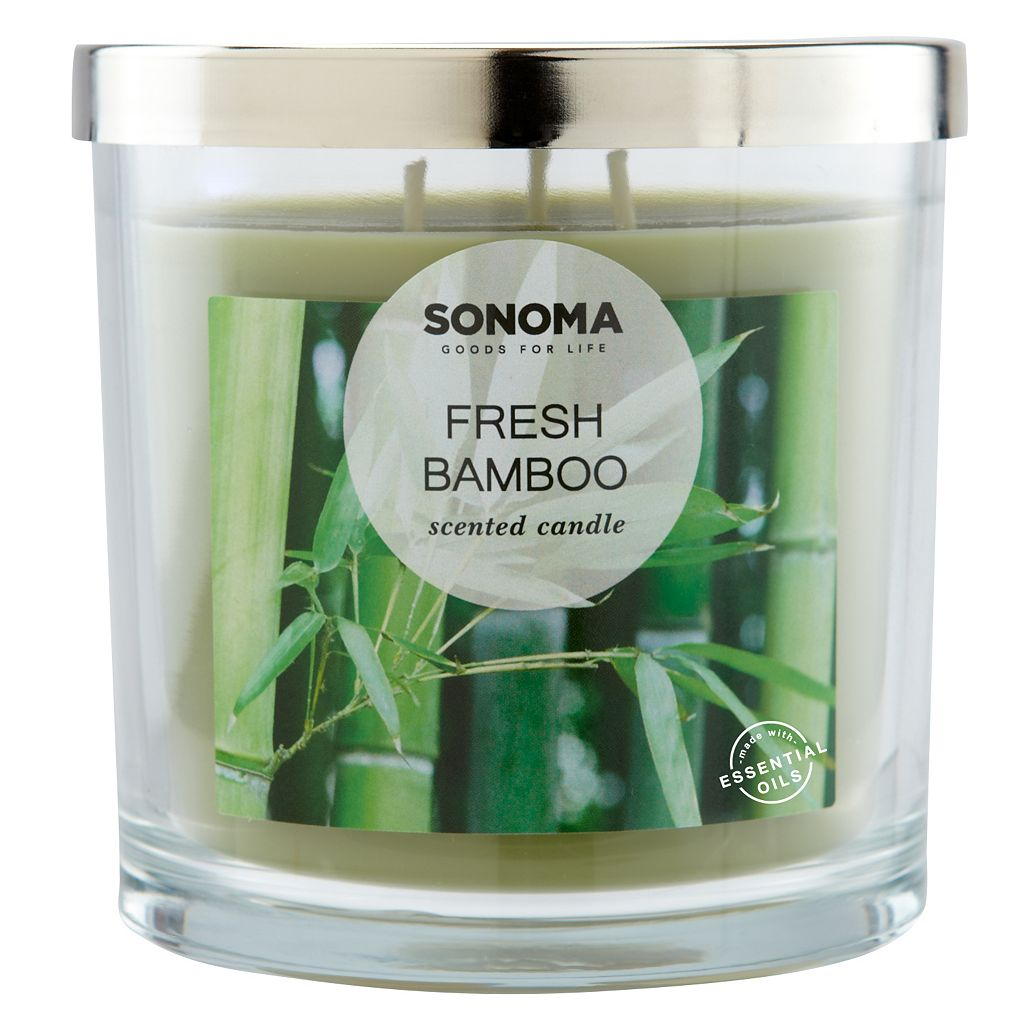 SONOMA Goods for Life™ Fresh Bamboo 14-oz. Candle Jar