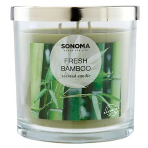 SONOMA Goods for Life? Fresh Bamboo 14-oz. Candle Jar