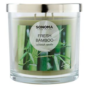 SONOMA Goods for Life® Fresh Bamboo 14-oz. Candle Jar