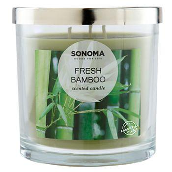 Sonoma Fresh Bamboo Candle Jar (14-oz)
