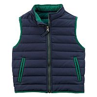 Toddler Boy Carter's Navy Puffer Vest