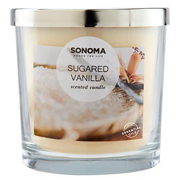 SONOMA Goods for Life™ Sugared Vanilla 14-oz. Candle Jar