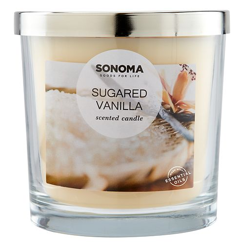 SONOMA Goods for Life™ Sugared Vanilla 14-oz. Candle Jar