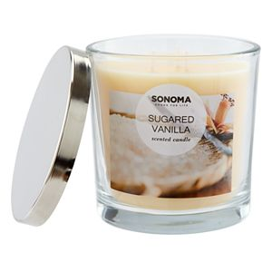 Sonoma Goods For Life? Sugared Vanilla 14-oz. Candle Jar