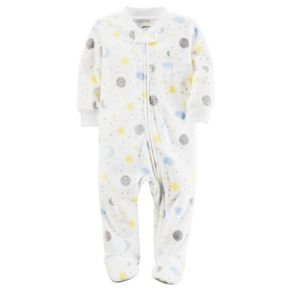 Baby Carter's Moon Microfleece Sleep & Play