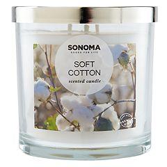SONOMA Goods for Life™ Soft Cotton 14-oz. Candle Jar
