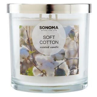 SONOMA Goods for Life? Soft Cotton 14-oz. Candle Jar