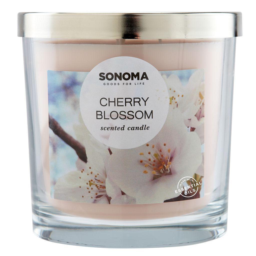 SONOMA Goods for Life™ Cherry Blossom 14-oz. Candle Jar