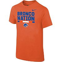 Boys 8-20 Nike Boise State Broncos Local Verbiage Tee