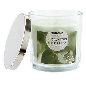 Sonoma Goods For Life? Eucalyptus & Mint Leaf 14-oz. Candle Jar