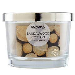 SONOMA Goods for Life™ Sandalwood Cotton 5-oz. Candle Jar