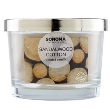 SONOMA Goods for Life? Sandalwood Cotton 5-oz. Candle Jar