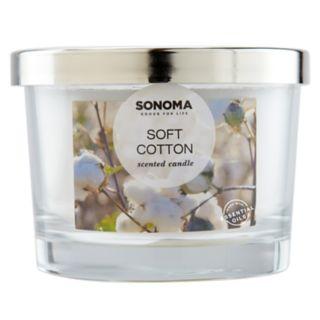 SONOMA Goods for Life? Soft Cotton 5-oz. Candle Jar