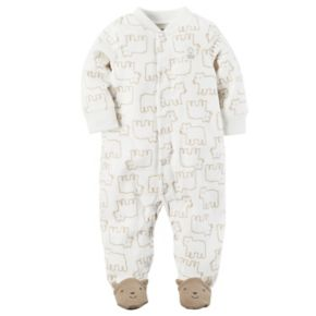 Baby Boy Carter's Bear Microfleece Sleep & Play
