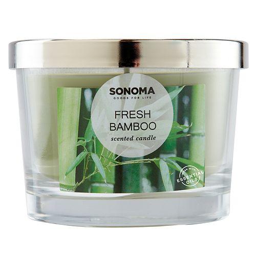 SONOMA Goods for Life™ Fresh Bamboo 5-oz. Candle Jar