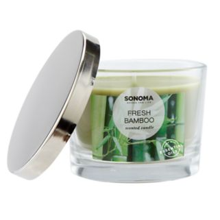 SONOMA Goods for Life™ Fresh Bamboo 5-oz. Candle Jar