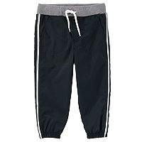 Toddler Boy OshKosh B'gosh® Striped Black Active Pants
