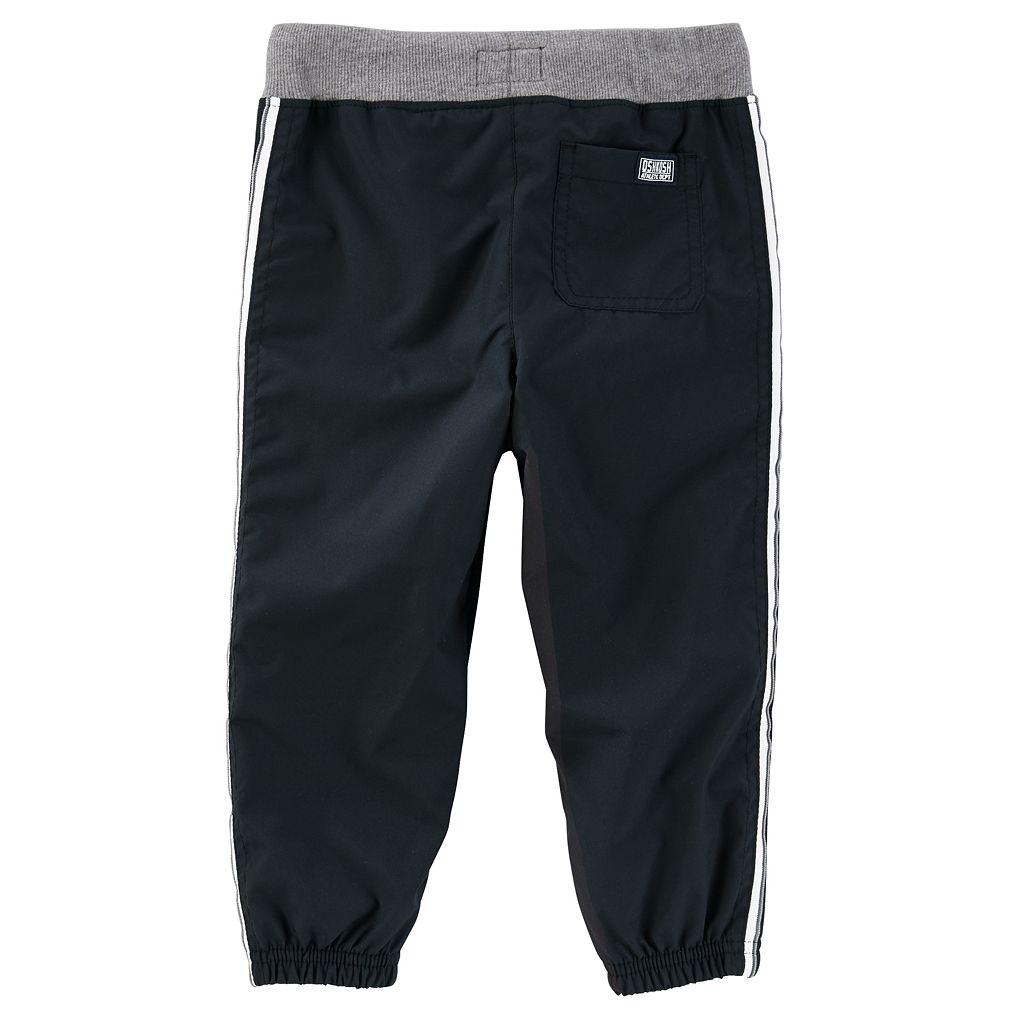 Toddler Boy OshKosh B'gosh® Striped Black Active Pants
