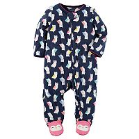 Baby Girl Carter's Owl Microfleece Sleep & Play