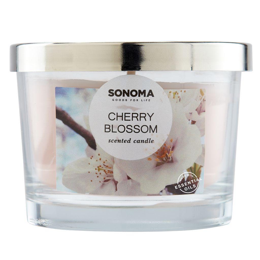 SONOMA Goods for Life™ Cherry Blossom 5-oz. Candle Jar