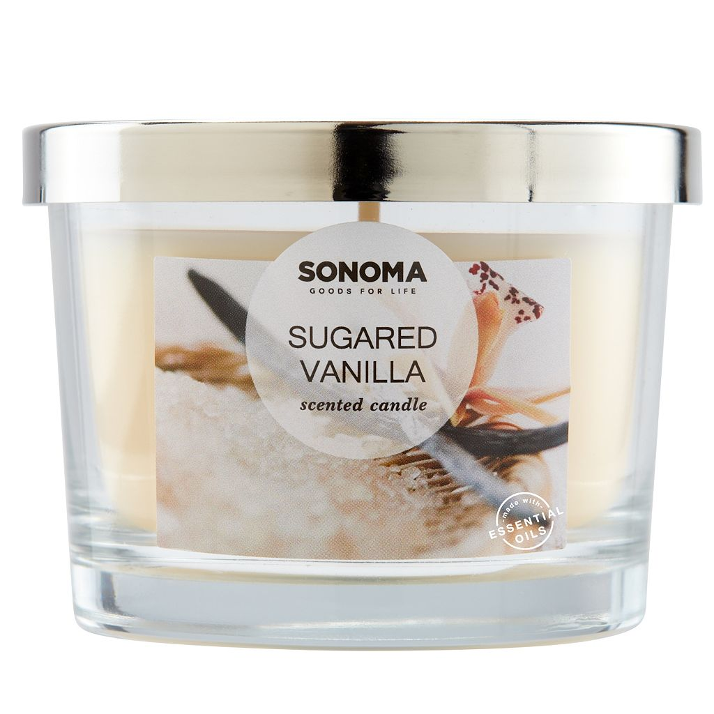 SONOMA Goods for Life™ Sugared Vanilla 5-oz. Candle Jar