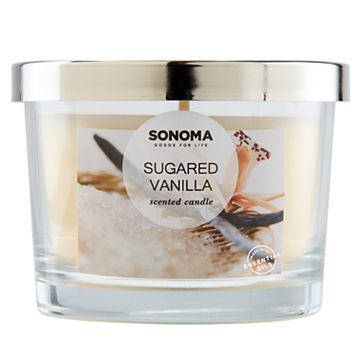 SONOMA Goods for Life™ Sugared Vanilla 5-oz. Candle Jar