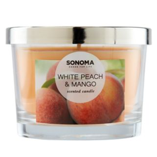 SONOMA Goods for Life™ White Peach & Mango 5-oz. Candle Jar