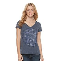 Women's SONOMA Goods for Life™ Print Surplice Tee