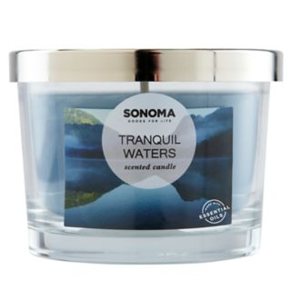 SONOMA Goods for Life? Tranquil Waters 5-oz. Candle Jar