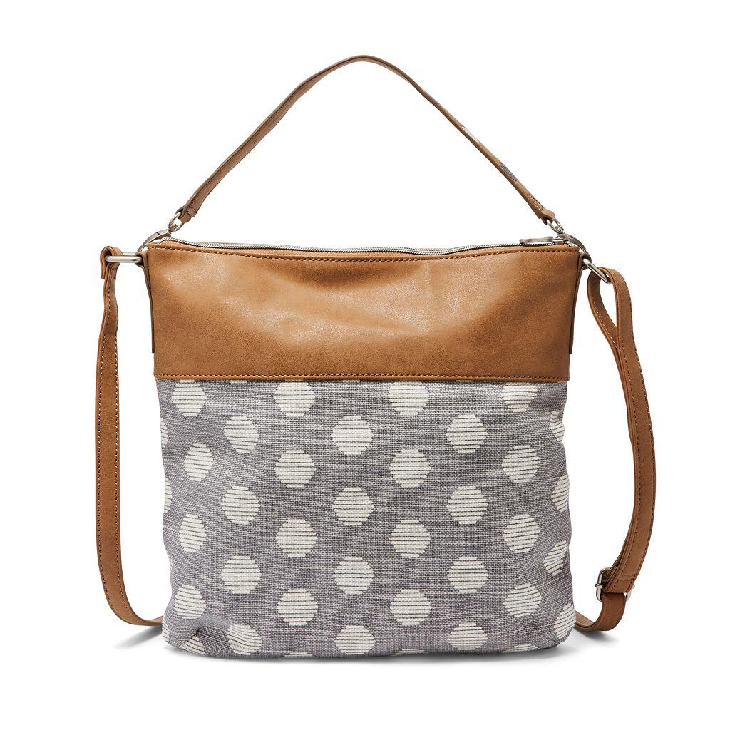 Relic Sophie Polka Dot Convertible Crossbody Bag