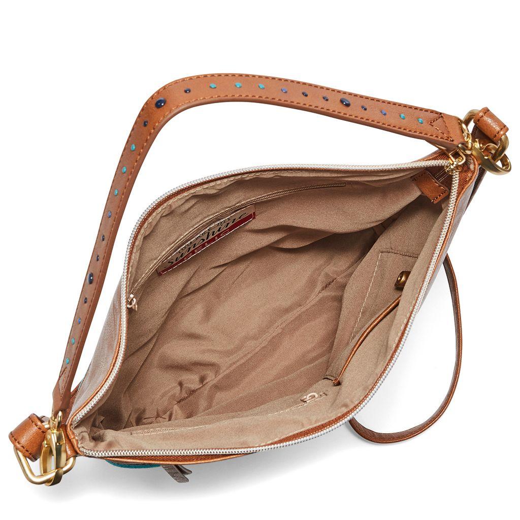 Relic Sophie Blue Polka Dot Convertible Crossbody Bag