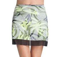 Women's Tail Mora Knit Mesh Hem Tennis Skirt
