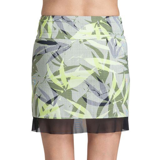 Women's Tail Mora Knit Mesh Hem Tennis Skirt