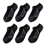 Boys 4-20 adidas 6-pack No-Show climalite Performance Socks