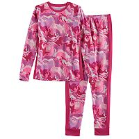 Girls 4-16 Cuddl Duds Fleece Top & Bottoms Set