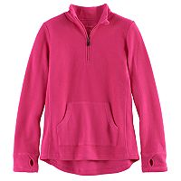 Girls 4-16 Cuddl Duds 1/4-Zip Fleece Pullover