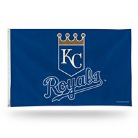 Kansas City Royals Shield Banner Flag